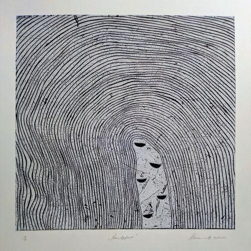 Titel, Sandpfade 2020, Druckfarben auf Papier, Blatt 50x70 cm, Motiv 40x40 cm.jpg