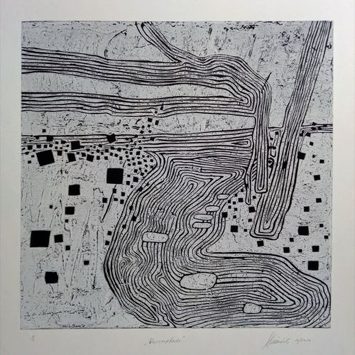 Titel, Wasserpfade 2020, Druckfarben auf Papier, Blatt 50x70 cm, Motiv 40x40 cm.jpg