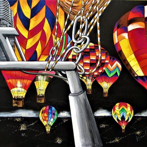 Ballonfahrt - Nachts �ber dem Emsland.jpg